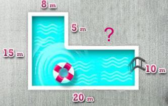 Play rekenen tot kerst 1f flipquiz - Omtrek zwembad ...